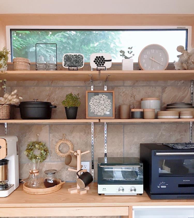キッチン背面スペースで家事楽導線@ritsuko_ie