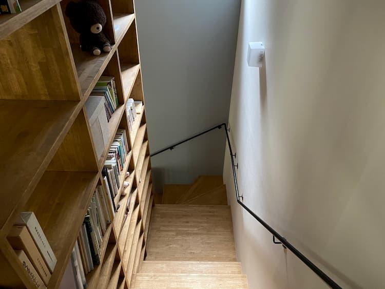 階段を有効活用した収納スペース@ma.me_2347home