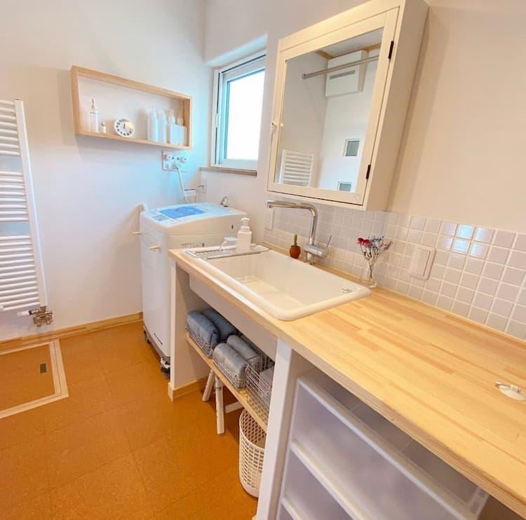 洗面所のスペース
