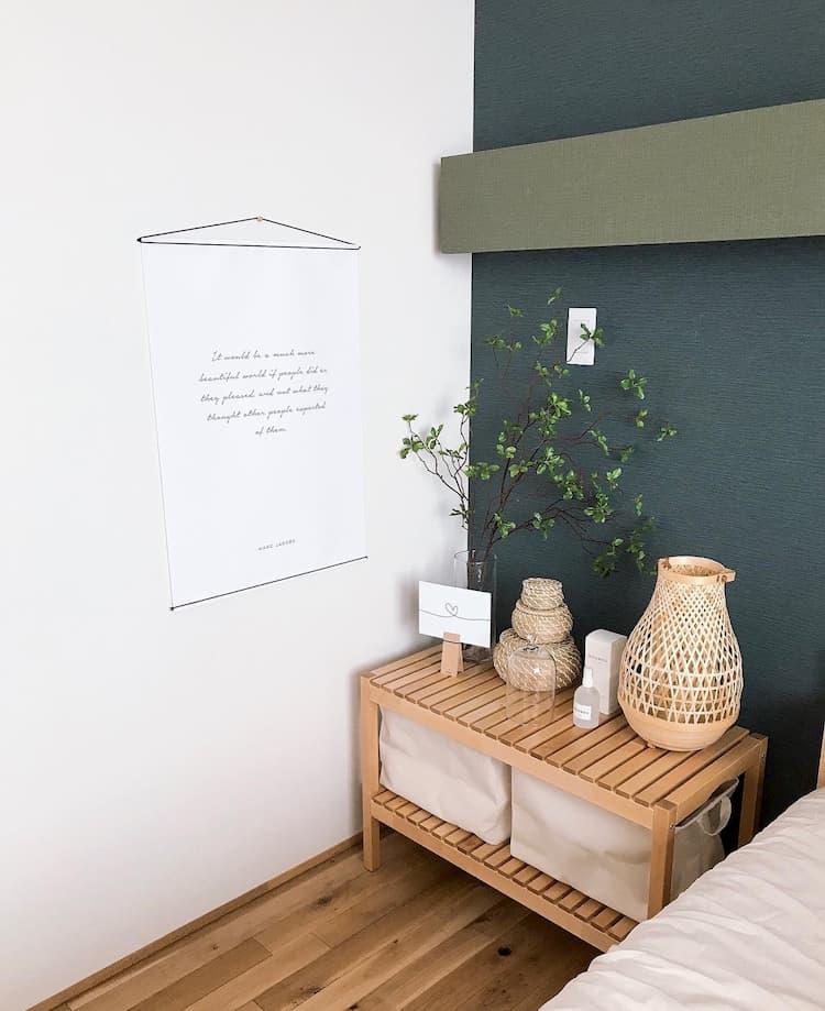 インテリアが可愛い寝室@ritsuko_ie